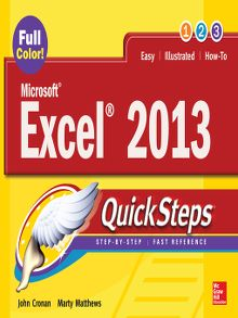 Wiley cpa exam review 2013 financial accounting and reporting microsoft174 excel174 2013 quicksteps fandeluxe Gallery