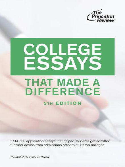 princeton review essay book For quick reference, below are the short answer and essay questions included in the princeton supplement for 2018-19 activities please briefly elaborate on one of your extracurricular activities or work experiences that was particularly meaningful to you.