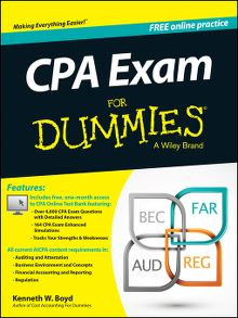 Wiley cpa exam review 2013 financial accounting and reporting cpa exam for dummies fandeluxe Gallery