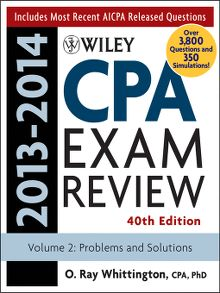 Wiley cpa exam review 2013 financial accounting and reporting wiley cpa examination review 2013 2014 problems and solutions fandeluxe Gallery