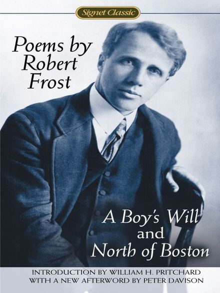 a review of robert frosts poem a boys will The road not taken by robert frost two roads diverged in a yellow wood and sorry i could not travel both and be one traveler long i stood and looked down one as far.