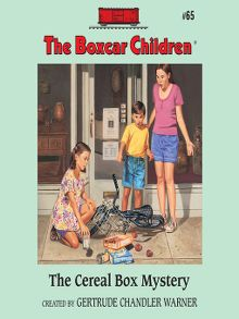 The boxcar children sunflower elibrary overdrive the cereal box mystery audiobook fandeluxe Document