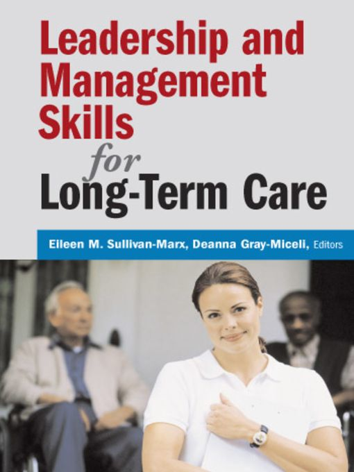 Leadership and Management Skills for Long-Term Care - eBook