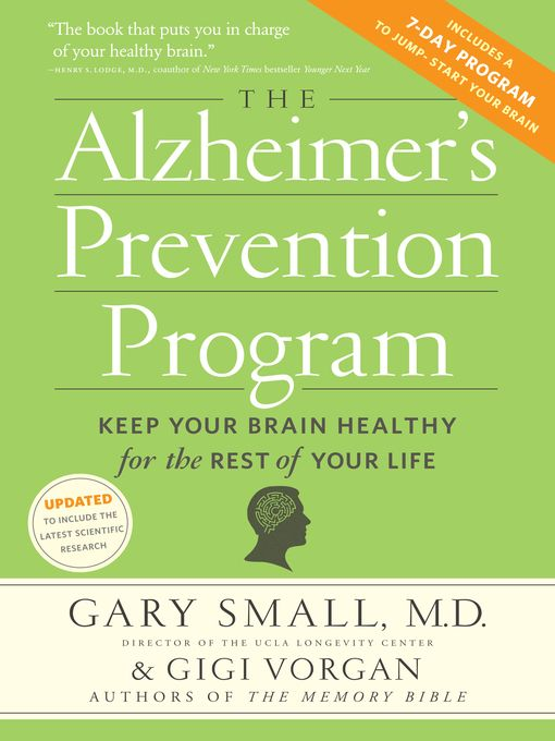 The Alzheimer's Prevention Program - eBook