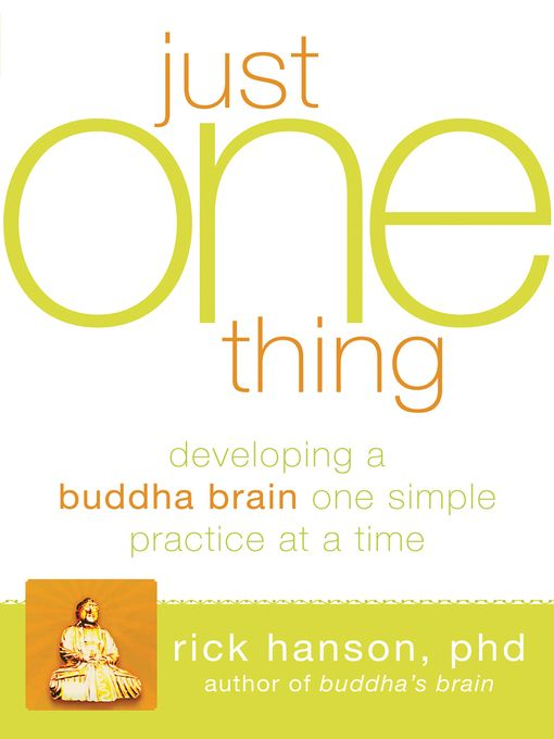 Just One Thing - eBook