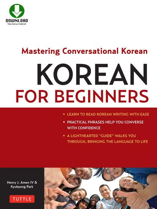 Korean for Beginners book cover
