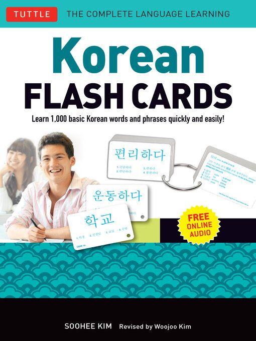 Korean Flash Cards book cover