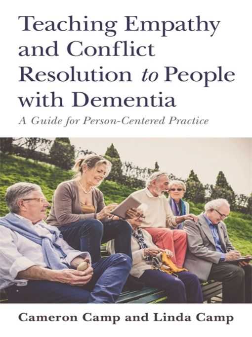 Teaching Empathy and Conflict Resolution to People with Dementia - eBook