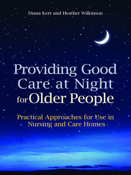 Providing Good Care at Night for Older People - eBook
