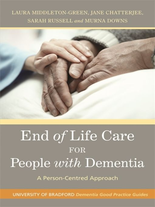 End of Life Care for People with Dementia - eBook