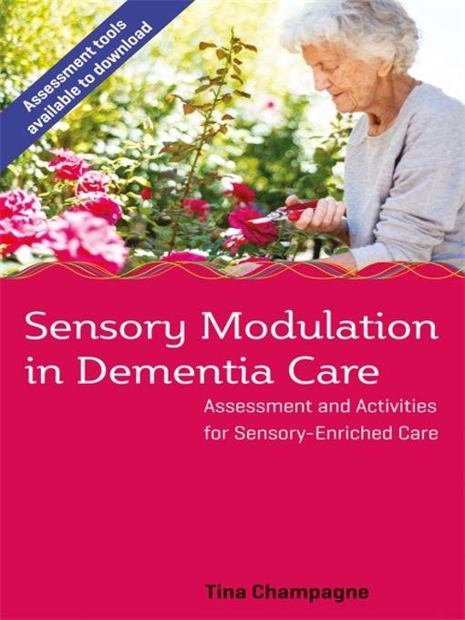 Sensory Modulation in Dementia Care - eBook
