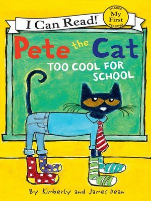 """""""Too Cool for School"""" (ebook) cover"""