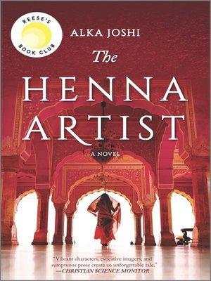 """The Henna Artist"" (ebook) cover"