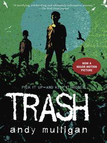 Trash book cover