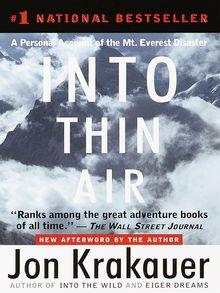 Into Thin Air - ebook
