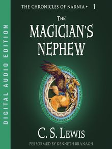 The Magicians Nephew book cover