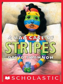 A Bad Case of Stripes book cover