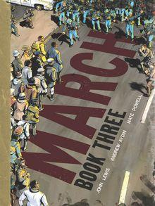 March Book Three book cover