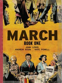 March Book One book cover