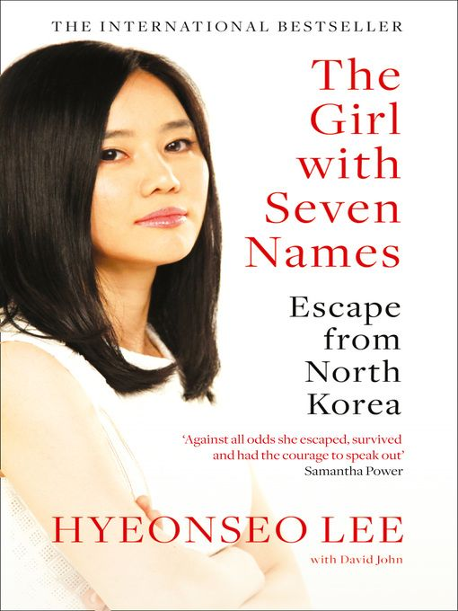 """""""The Girl with Seven Names"""" (ebook) cover"""