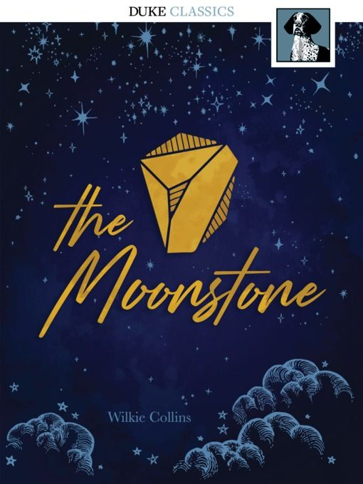 """""""The Moonstone"""" (ebook) cover"""