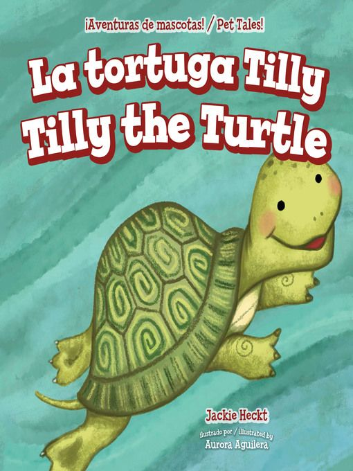 """""""La tortuga Tilly / Tilly the Turtle"""" (ebook) cover"""