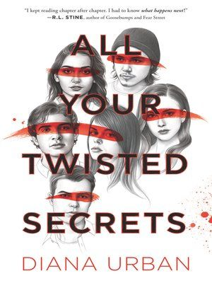 """""""All Your Twisted Secrets"""" (ebook) cover"""