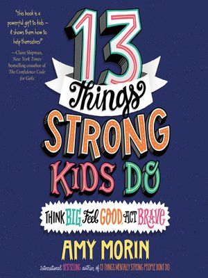 Book cover for 13 Things Strong Kids Do